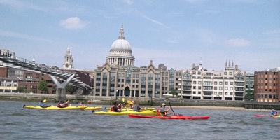 Kayak Bus (Greenwich to Battersea).