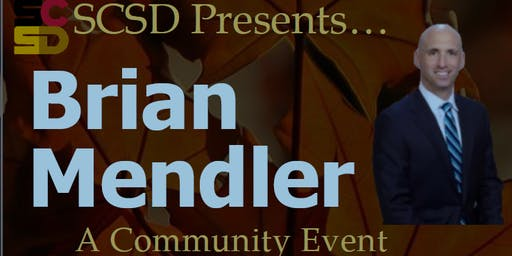 SCSD Community Keynote Event with Brian Mendler