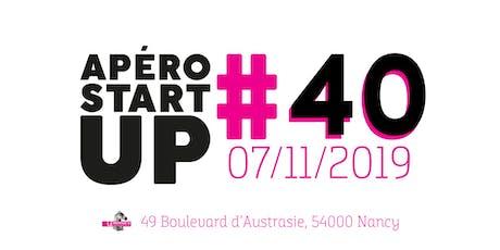 Apéro Startup #40 - Le Paddock - Novembre 2019 billets