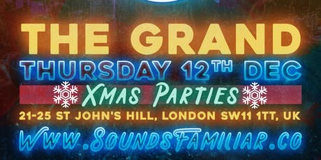 Sounds Familiar Music Quiz Christmas Party at The Grand tickets