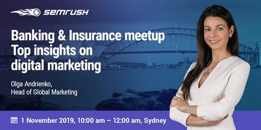 Banking & Insurance meetup: top insights on digital marketing
