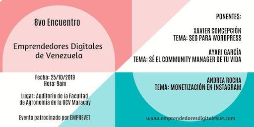 8vo Encuentro de Emprendedores Digitales en Maracay