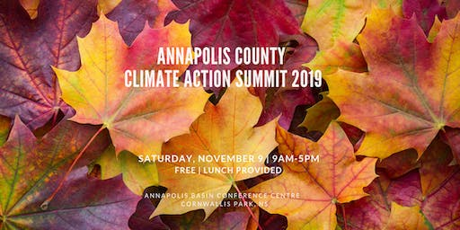 Annapolis County Climate Action Summit 2019