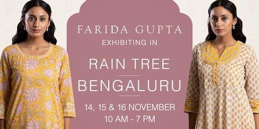 Farida Gupta Bengaluru Exhibition (Rain Tree)