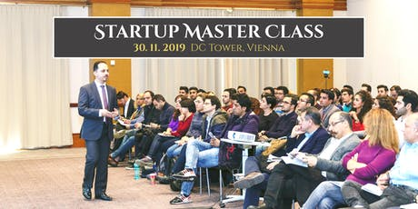 Startup Master Class Tickets