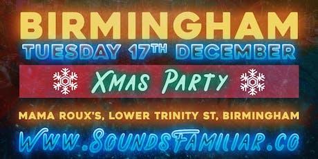Sounds Familiar Music Quiz Christmas Party - Birmingham tickets