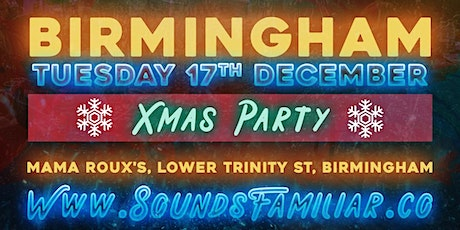 Sounds Familiar Music Quiz Christmas Party - Birmingham tickets