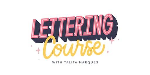 Curso de Lettering com Talita Marques - Brasília
