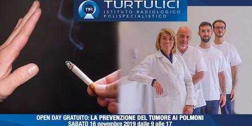 Open Day Gratuito: La prevenzione del tumore del polmone