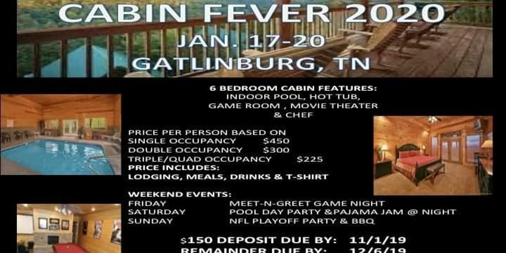 Gatlinburg Calendar Of Events 2020.Cabin Fever 2020