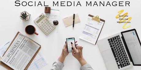 Social Media Manager tickets