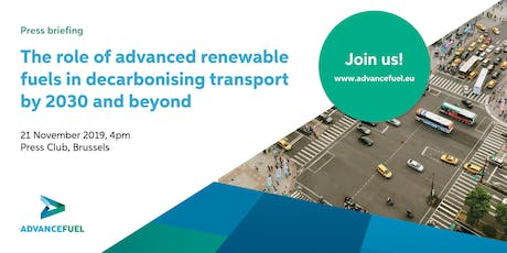 Press briefing: The role of advanced RESfuels in decarbonising transport tickets