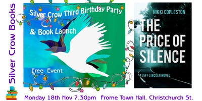 Silver Crow 3rd Birthday Party & Book Launch