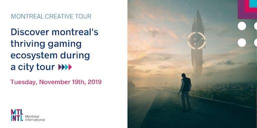 Montréal Creative Tour