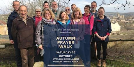 Genesis Trust and Bath Abbey Autumn  Prayer Walk tickets