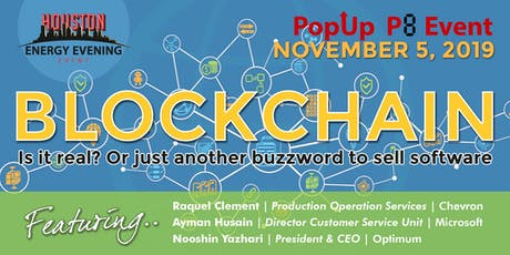 An Energy Evening Event | Blockchain... is it real?  tickets