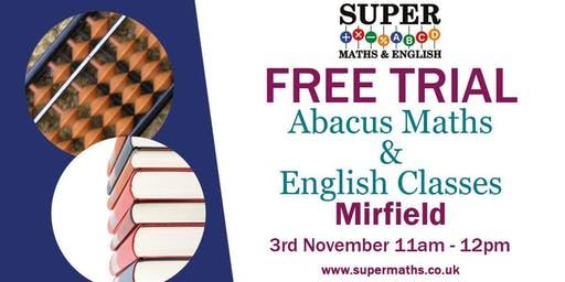 Abacus Maths And English classes
