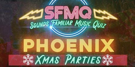 Sounds Familiar Music Quiz - XMAS PARTY tickets
