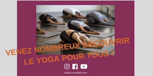 Cours de Yoga au Village de Marques à Nailloux