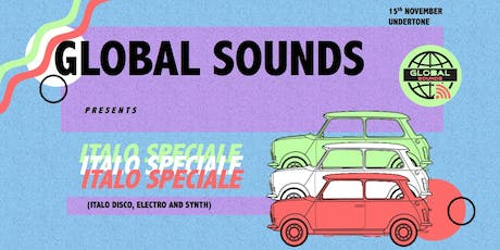 Global Sounds presents Italo Speciale tickets