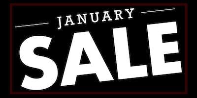 Members Event :: January Clearance Sale!