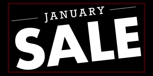 Members Event :: January Clearance Sale!
