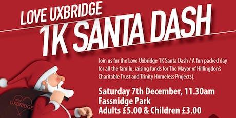 Love Uxbridge Santa Dash tickets