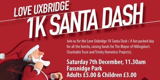 Love Uxbridge Santa Dash