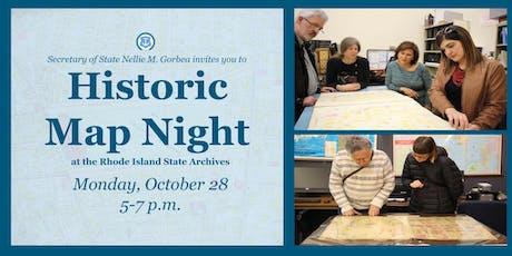Historic Map Night tickets