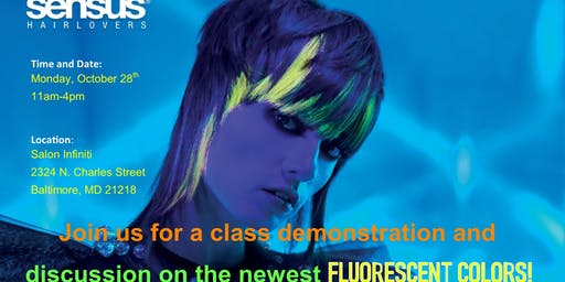 FLUO Hair Color Color Class
