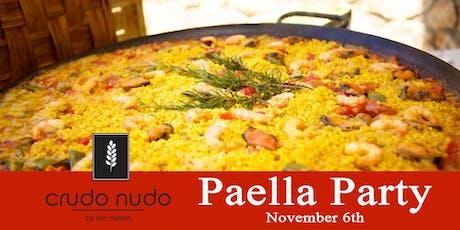 Paella Party | crudo nudo tickets
