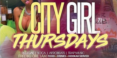 CITY GIRL THURSDAYS EVERYONE FREE BEFORE @ NIRV