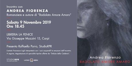 Incontro con l'autore Andrea Fiorenza biglietti