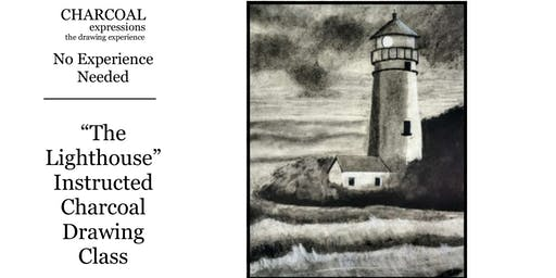 """Charcoal Drawing Event """"Lighthouse"""" in Reedsburg"""