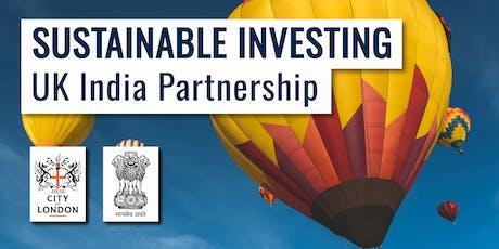 Sustainable Investing: UK-India Partnership tickets