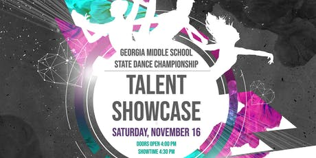 Georgia Middle School State Dance Championship Talent Showcase tickets