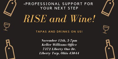 RISE and Wine Happy Hour