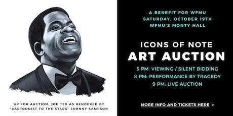 Icons of Note  Art Auction tickets