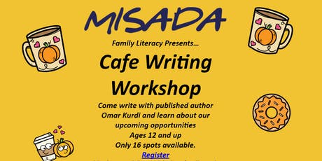 Misada's Cafe Writing Workshop tickets