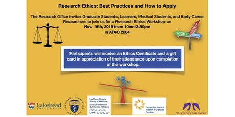 Research Ethics: Best Practices and How to Apply tickets