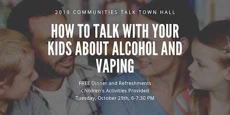 2019 Communities Talk Town Hall tickets