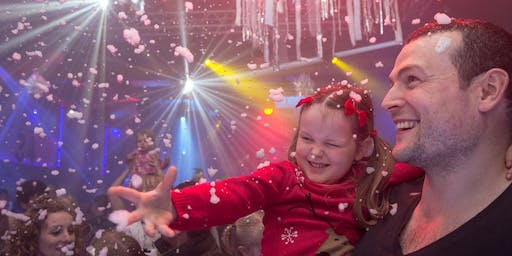 Big Fish Little Fish Family Rave HACKNEY Jingle Bell Ball 15 Dec 3-5pm