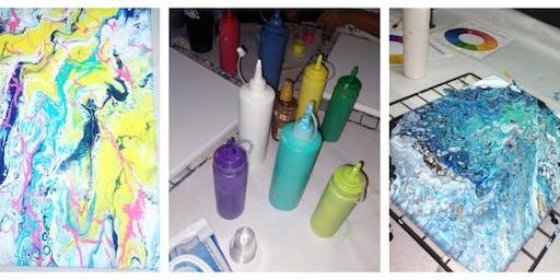 Paint Pour @The Midway