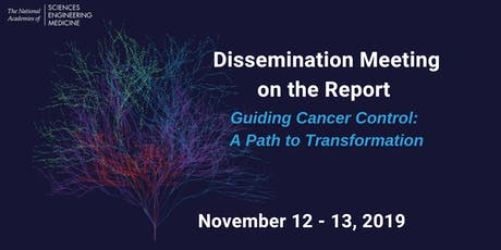 Dissemination Meeting on  Guiding Cancer Control: A Path to Transformation tickets