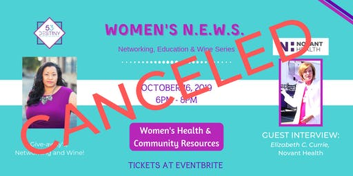 Women's N.E.W.S. (Monthly Event)