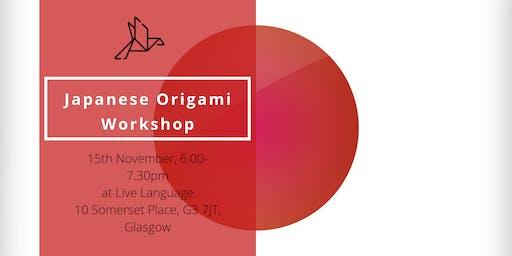 Japanese Origami Workshop