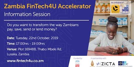 Information Session 2: Zambia FinTech4U Accelerator tickets
