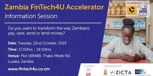 Information Session 2: Zambia FinTech4U Accelerator