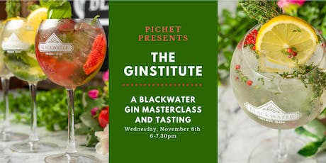 Pichet Presents The Ginstitute: A Blackwater Gin Masterclass tickets