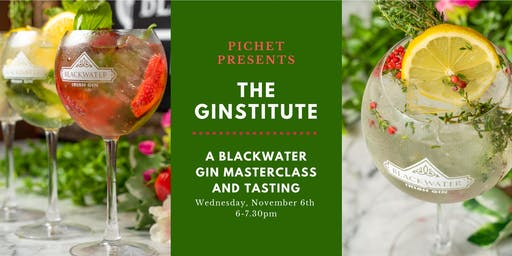Pichet Presents The Ginstitute: A Blackwater Gin Masterclass